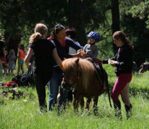 MisGrosi Kinderbetreuung Ponyreiten